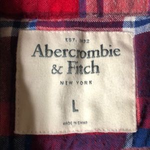 Abercrombie & Fitch Shirts - Men's Large Checkered Abercrombie Flannel Shirt